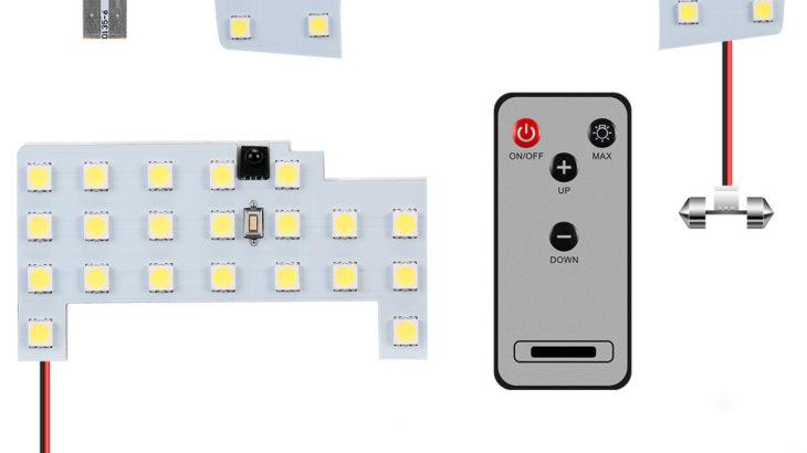 【JB64 JB74】調光機能付きのLEDルームランプが発売になりました!