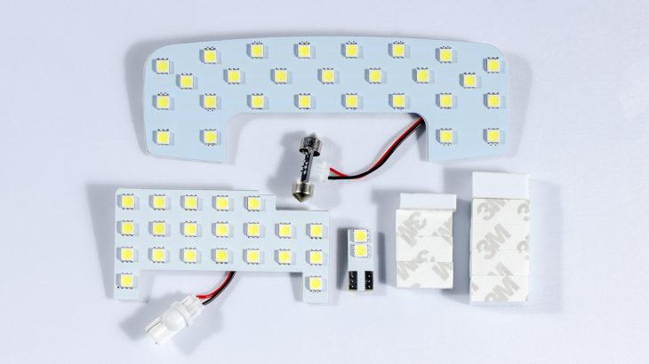 新型ジムニーJB64新商品LEDルームランプキット発売中!