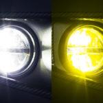 【新型ジムニーJB64/74】カラー切替タイプのフォグランプが登場です!!